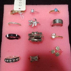 12 rings